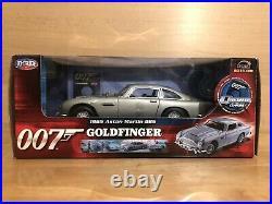 Ertl Joyride 33745 James Bond Aston Martin DB5 With Gadgets Goldfinger 118