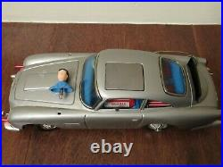 Estate Found Working & Clean James Bond Gilbert Aston Martin Battery Operated