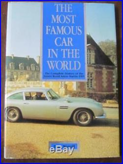 F/S Most Famous Car in the World Complete History of James Bond Aston Martin DB5
