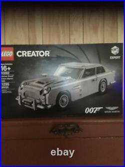 Factory Sealed Lego Creator Expert James Bond Aston Martin Set# 10262