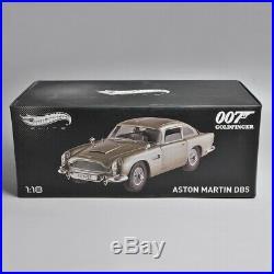 Fine Version Hot Wheels 118 Aston Martin DB5 Car Model 007GOLDFINGER JAMES BOND