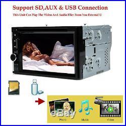For BMW Audi Ford Hyundai Honda Chrysler Kia 2 Din Car Stereo Radio DVD Player