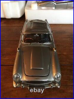Franklin/danbury mint 124 james bond 007 1964 Aston Martin db5 Classic boxed 18