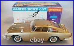 GAMA 4900 Aston Martin, James Bond 007- 1. Serie Blechspielzeug Mischbauweise+Ovp