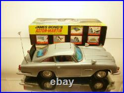 GILBERT ASTON MARTIN DB5 JAMES BOND 007 SILVER L29.0cm very rare GOOD IN BOX