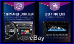 GPS Navigation 2Din HD Car Stereo DVD CD Player Bluetooth FM Radio US Map USB/SD