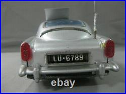 Gilbert Toys Aston Martin Db5 James Bond-battery Toy-funcionando-raro