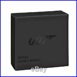 Great Britain UK 2020 £5 James Bond 007 Aston Martin DB5 Silver Proof 2oz Coin