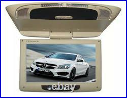 Grey 9'' Screen Flip Down Roof Mount Overhead TFT LCD Car DVD Multimedia Monitor