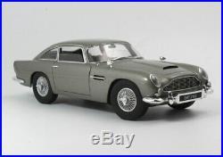 Hot Wheels Elite Aston Martin DB5 James Bond 007 1/18 Scale Diecast Model