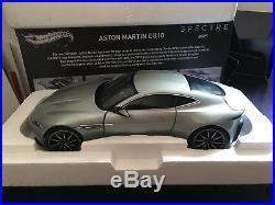 Hot Wheels Elite Aston Martin Db10 James Bond 007 Spectre 1/18 Diecast Car Cmc94