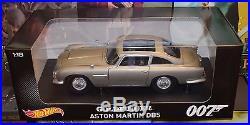 Hot Wheels Entertainment Collection 118 JAMES BOND ASTON MARTIN DB5 GOLDFINGER