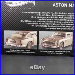Hotwheels 118 Back To The Future Time Machine Aston Martin DB5 007 JAMES BOND