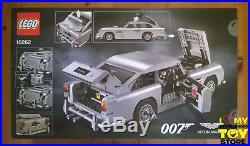 In Stock Lego 10262 Creator Expert James Bond Aston Martin Db5 (2018) Misb