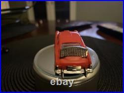JAMES BOND 007 AC GILBERT ASTON MARTIN Red O Gauge SLOT CAR Aurora RUNS 1/48