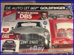 JAMES BOND 007 ASTON MARTIN DB5 18 SCALE BUILD 1/////////// TM 47 New OVP