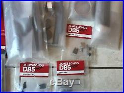 JAMES BOND 007 DB5 18 Aston Bundle 5,10,12,13,14,15,17,19,35,47,50,51,55,56