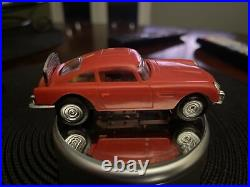JAMES BOND 007 SET CAR AC GILBERT ASTON MARTIN DB4 O GAUGE 1/43 SLOT CAR Runs