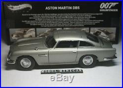 JAMES BOND Hot Wheels 118 (007 GOLDFINGER Movie) Aston Martin DB5 Car Model