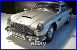 James Bond 007 Aston Martin DB5 18 Scale Model Eaglemoss, complete set