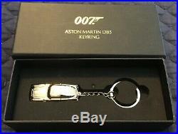 James Bond 007 Aston Martin DB5 Keychain Gold LTD Edition PLUS EXTRA