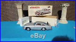 James Bond 007 Aston Martin DB5 Tin Toy Car/Japan /Gilbert Unlicensed Brand/Box