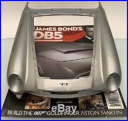 James Bond 007 Aston Martin Db5 18 Scale Build Goldfinger Issue 77 Used