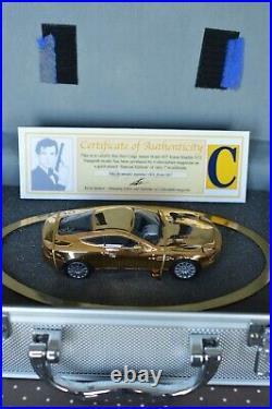 James Bond 007 Gold-Plated Aston Martin V12 Vanquish Corgi Classics Special Edn