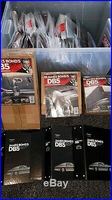 James Bond 1/8 Scale Eaglemoss Aston Martin Db5 Complete Unbuilt Parts Sealed