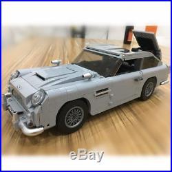 James Bond Aston Martin DB5 Building Blocks Kit Bricks Set Classic 007 Model Toy