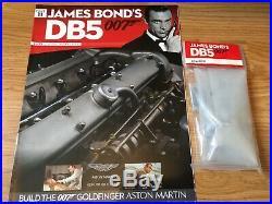 James Bond Aston Martin Db5 1/8 Eaglemoss Complete 86 Issue Kit