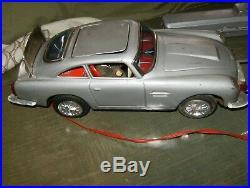 James Bond Aston Martin Remote Control Car 1960's