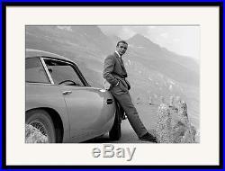 James Bond Aston Martin Sean Connery Framed Art Print DB5 007 Photograph