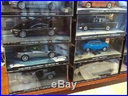 James Bond Car Collection Job Lot x 31 MIB 143 Many Aston Martin+Goldeneye Tank