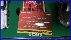 James Bond Casino Royale Aston Martin Poker Set Corgi Limited Edition