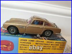 James Bond Corgi 261 with Box and Secret Instructions Restored