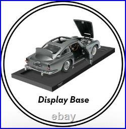 James Bond Official Display Stand Aston Martin Db5 18 Scale Eaglemoss Rare