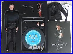 James bond 007 roger moore did dragon figure hot toys aston martin corgi 12 1/6