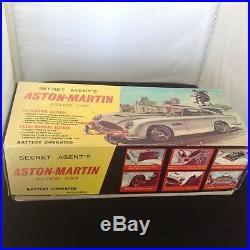 Japan Tin Battery 007 James Bond Aston Martin Rare, Not License