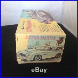Japan Tin Battery James Bond Aston Martin Rare