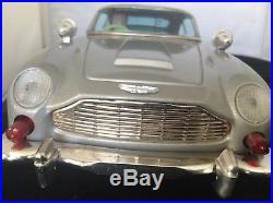 Japan Tin Battery James Bond Aston Martin Rare