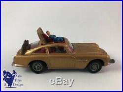 Jouet Ancien Corgi Toys 261 Aston Martin Db5 James Bond 2° Moule No Clignotants