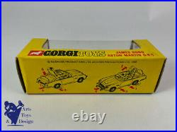 Jouet Ancien Corgi Toys 270 Boite Vide Originale Aston Martin Db5 James Bond