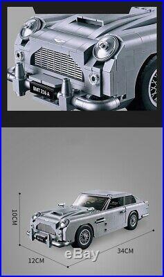 LEGO 10262 CREATORS Expert James Bond Aston Martin 1314 Pieces Educational F17