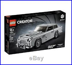 LEGO 10262 Creator Expert James Bond Aston Martin DB5 1295 Pcs Brand New! Sealed