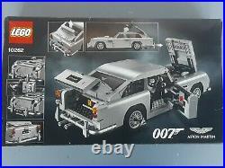 LEGO 10262 Creator Expert James Bond Aston Martin DB5 NIB SEALED Ship Immediatly