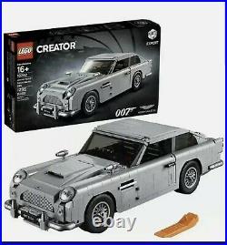 LEGO (10262) Creator James Bond 007 Aston Martin DB5 NIB. 1295 Pcs. NEW 16+