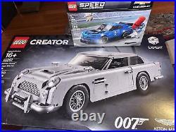 LEGO 10262 Creator James Bond Aston Martin DB5 New! Sealed! + 75891 Chevy Camaro
