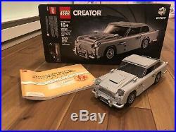 LEGO 10262 James Bond Aston Martin DB5 100% Complete