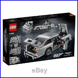 LEGO 10262 James Bond Aston Martin DB5 with License To Build, In-Hand NEWithSealed